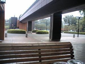 大学の駐車場