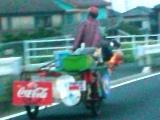 謎のリアカーバイク